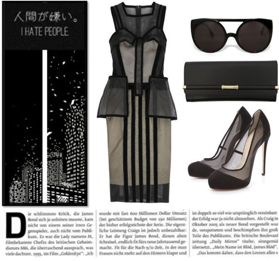 """""""A Life Restrained."""" by anne-michelle ❤ liked on Polyvore"""