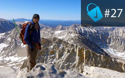 27: Pushing Thru Your Pain with Adventure Thru-Hiker Wesley Trimble http://thebucketlistlife.com
