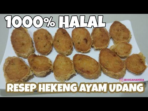 Resep Hekeng Ayam Udang Youtube Food Halal Vegetables