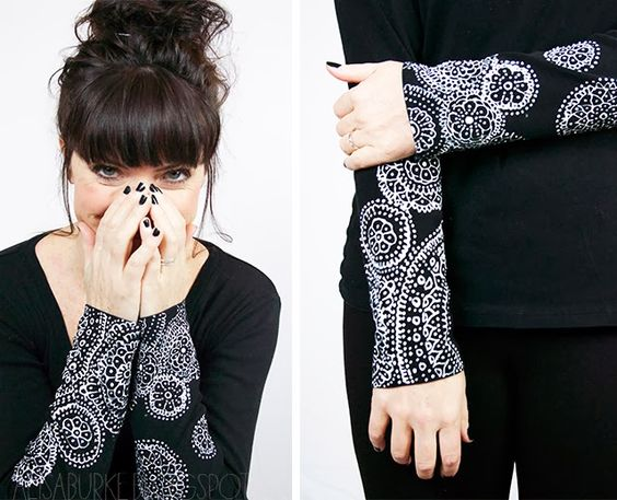 alisaburke: embellished sleeves