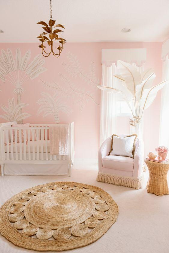 Home: Pink and Palm Nursery