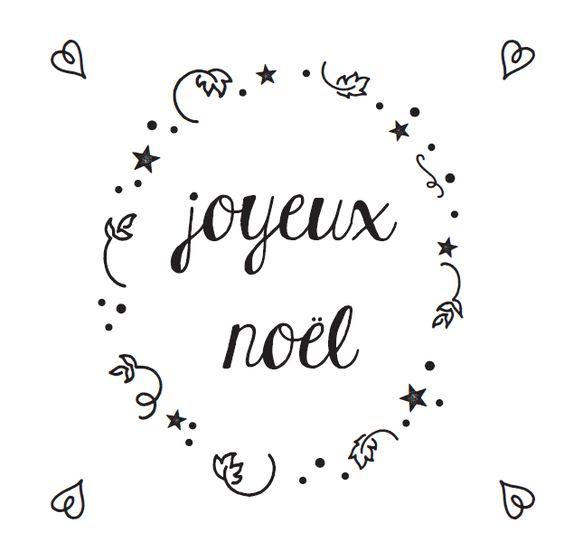 Dessin en peinture blanche sur vitre d calqu le motif - Joyeux noel noir et blanc ...