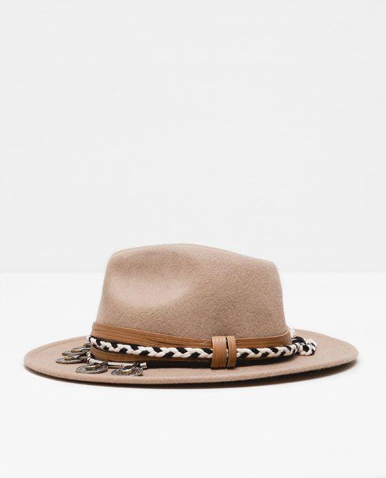 45f98d4ad0927 chapeau feutre homme zara