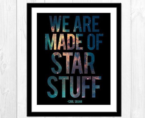Este sencillorecordatorio de Carl Sagan.   29 regalos para los amantes del espacio que no son de este mundo