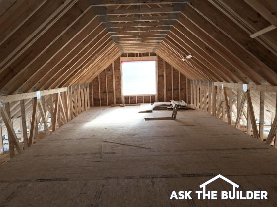 Attic Truss Design Roof Trusses Can Be Designed With One Or More Rooms In Them Great Video Here You Can Have R Attic Truss Roof Trusses Roof Truss Design