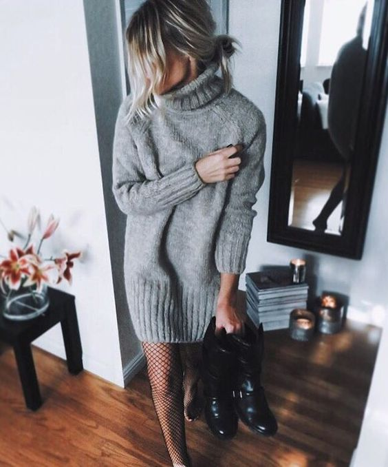 These sweater dresses are perfect for the winter and holidays!