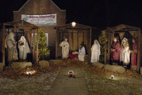 Live Nativity Stables