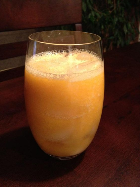 1 can sliced peaches in 100% juice (drained) and 1 cup of lemonade - puree in blender. Pour over 1 oz of good vodka on ice and enjoy! Made two batches of this tonight!!