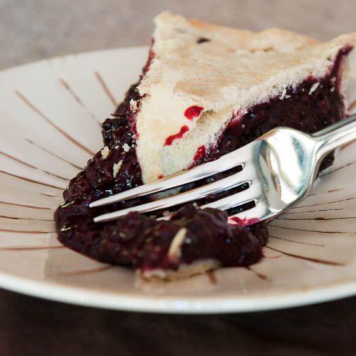 Marionberry Pie.  Delish Oregon treat!