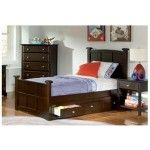 Coaster Furniture - Brayden Twin Sleigh Bed in Cappuccino Finish - 400751T