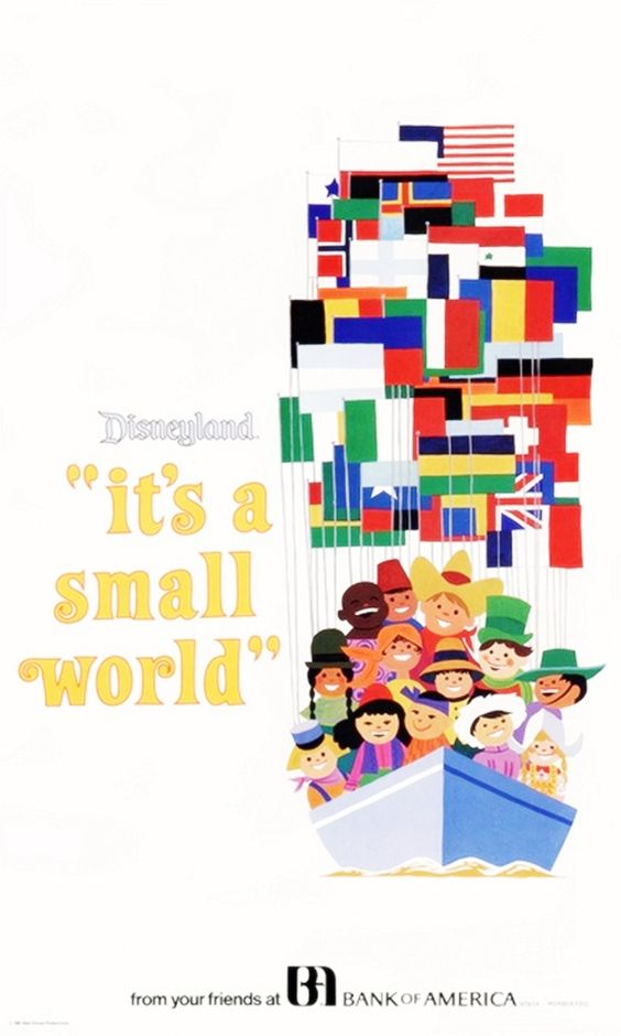 #Disney_Attraction_Posters #FANTASYLAND #its_a_smallworld