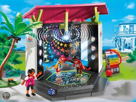 Playmobil Kinderclub met Minidisco - 5266