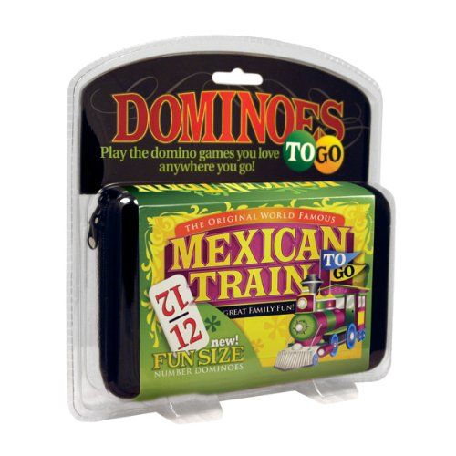 Mexican Train To Go, Number Dominoes $16.69