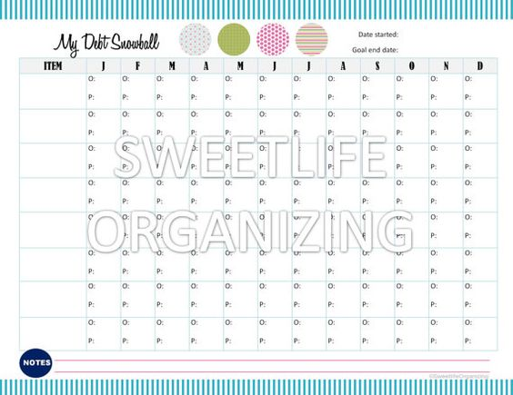 Worksheet Debt Worksheets debt snowball and worksheets on pinterest payoff worksheet digital instant download financial organizing printable