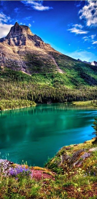 Glacier national park montana for Most beautiful places in america nature