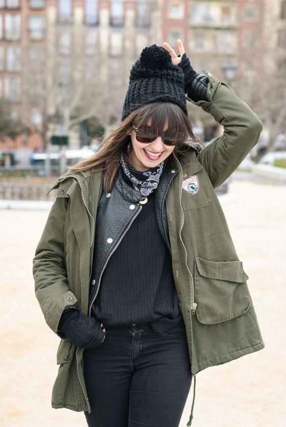 #parka #look #streetstyle #pimkie #isabel #marant #black #fashion #blogger