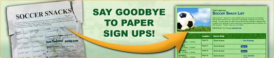 Say Goodbye to Paper Sign Ups