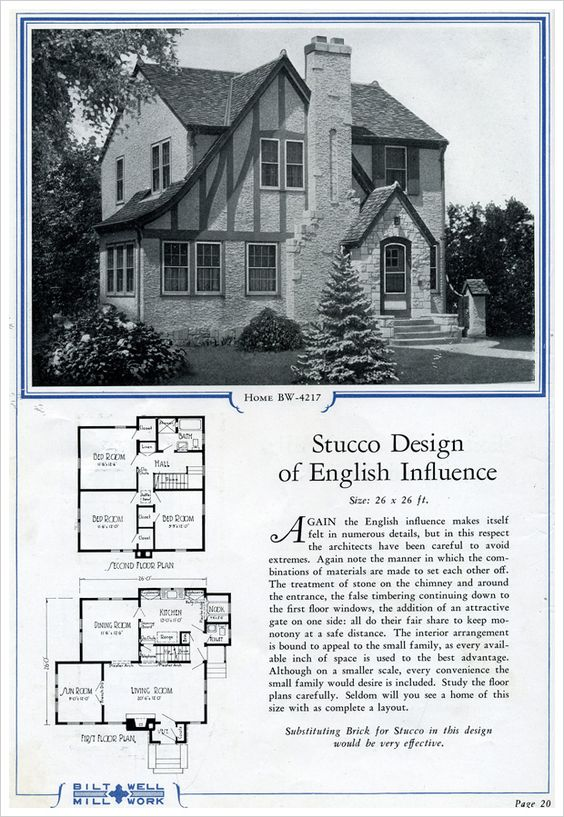 This is precisely the kind of home i want i didn 39 t say a for Tudor revival house plans
