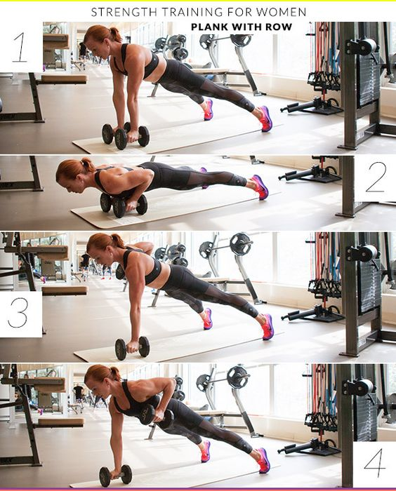 Free Weight Dumbbell Back Exercises: 8 Strength Training Exercises Every Woman Can Do