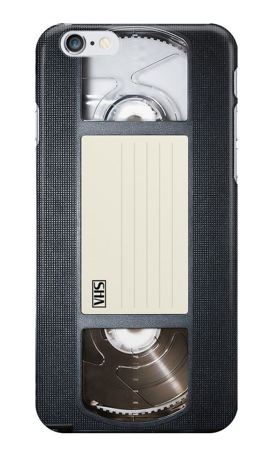 """""""VHS tape case """" iPhone Cases & Skins by Abricotti 