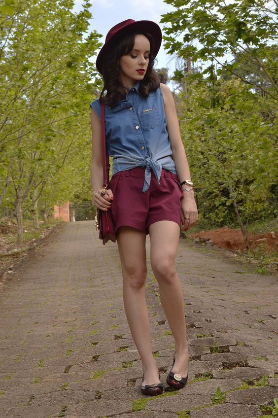 Look casual com camisa jeans - Blog Ela Inspira - http://www.elainspira.com.br/look-hold-my-hand/