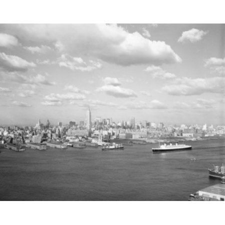 USA New York State New York City Manhattan Island Canvas Art - (18 x 24)