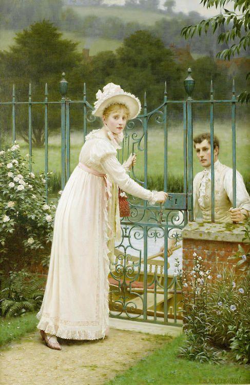 Edmund Blair Leighton (1853-1922) - Where there's a will...