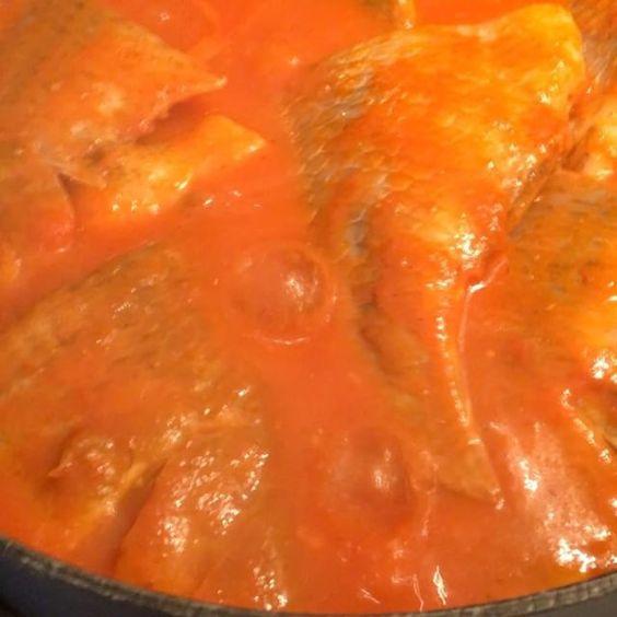 Fish Stew. #instavideo #food #fish #spicy #africanfood #instagood #naijafood #foodgasm #tilapia #foodporn  Yummery - best recipes. Follow Us! #foodporn