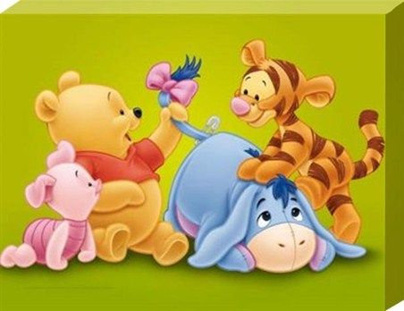 This is a picture of Simplicity Baby Winnie the Pooh and Friends