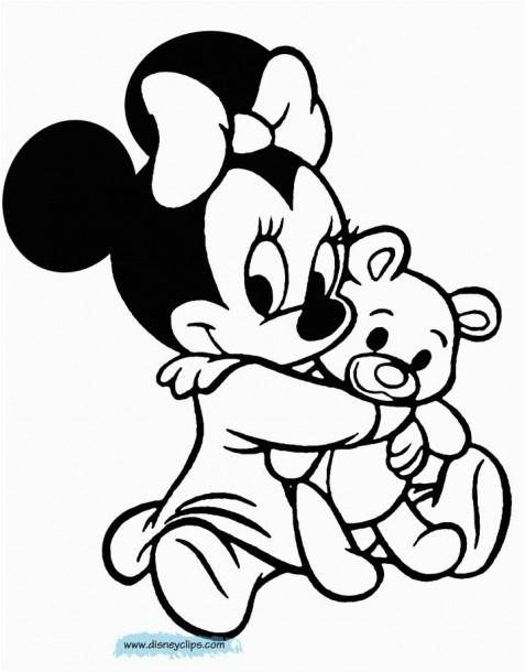 Bebe Mickey Mouse Para Colorear Dibujo De Minnie Mickey Para Pintar Dibujos Para Colorear Disney