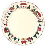 Christmas Village Dinerbord 27 cm