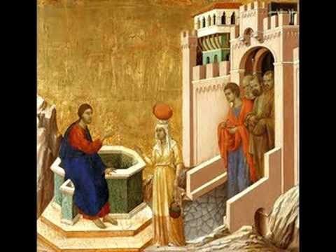Leonin: organum duplum. Leonin(1135-1201) organum duplum with a painting by Duccio di Buoninsegna(1255-1319)