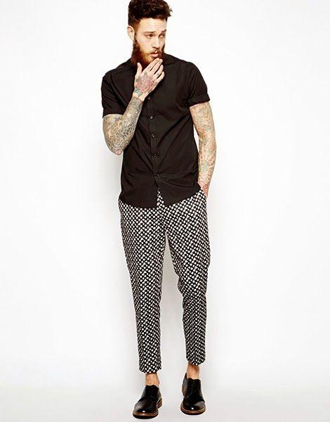 Macho Moda - Blog de Moda Masculina: Calças Estampadas Masculinas, você usaria?: