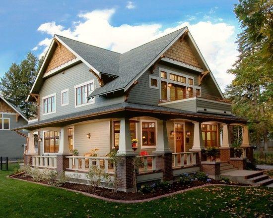 Craftsman Craftsman Homes And Cedar Shakes On Pinterest