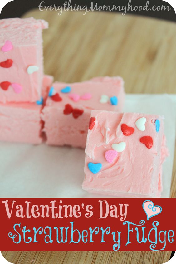 Strawberry Fudge - Valentine's Day: