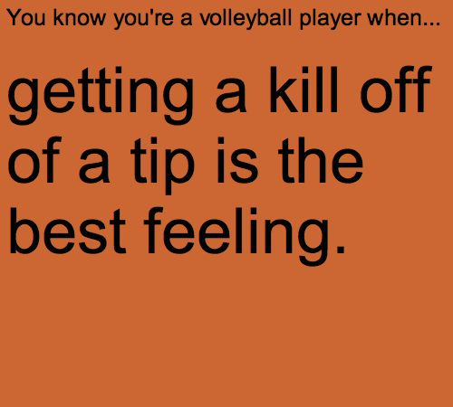 That's why I'm a middle hitter