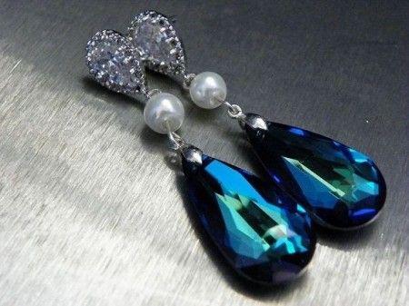 Algo azul nunca puede faltar en la novia www.utopik.com.mx