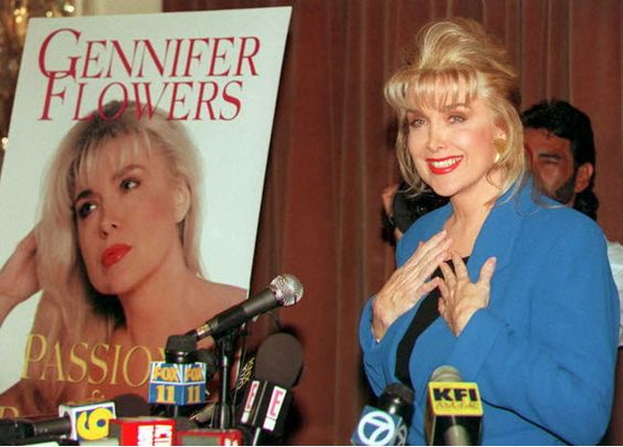 """Bill Clinton's Ex-Girlfriend, Gennifer Flowers, Confirms She Will """"Definitely Be At The Debate""""   """"Hillary Clinton has announced that she is letting her husband out to campaign but HE'S DEMONSTRATED A PENCHANT FOR SEXISM, so inappropriate!"""" Trump tweeted in December. Trump later labeled Clinton """"one of the great women abusers of all time.""""  Sure enough, just to make Monday's debate even more memorable, moments ago Gennifer Flowers confirmed she will be at the debate."""