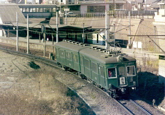 3850系名鉄 名鉄 列車 風景