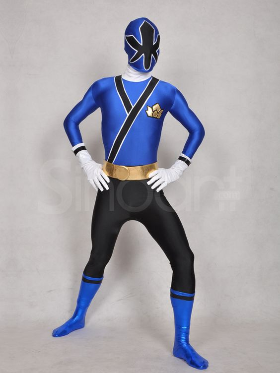 power ranger samurai costume blue | Power Ranger- Samurai ...