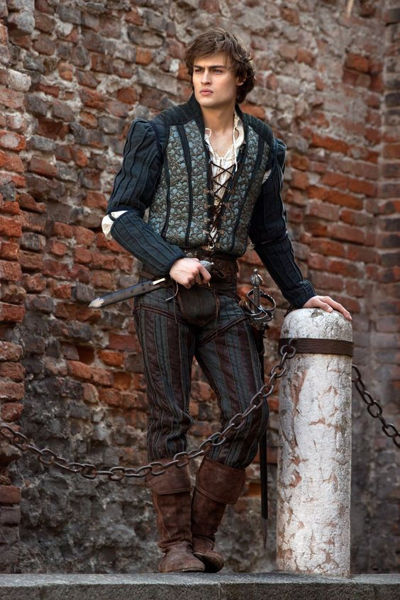 Having an Elizabethan themed wedding? Look no further for inspiration than Douglas Booth in this year's Romeo & Juliet adaptation.