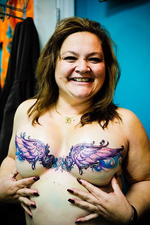 Inked magazine beautiful tattoos and mastectomy tattoo on for Tattoo nipple breast cancer