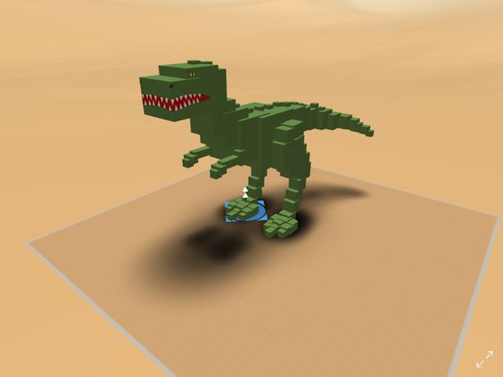 Building figures can be as easy as putting balls together to create a bear, or as hardcore as making your own virtual dinosaur. What level or virtual reality world building are you in?
