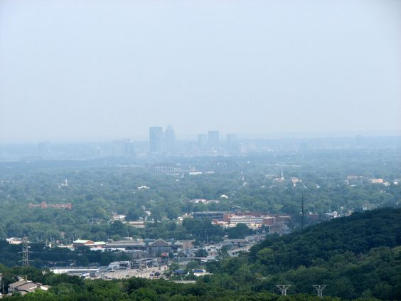 Louisville from Floyds Knobs
