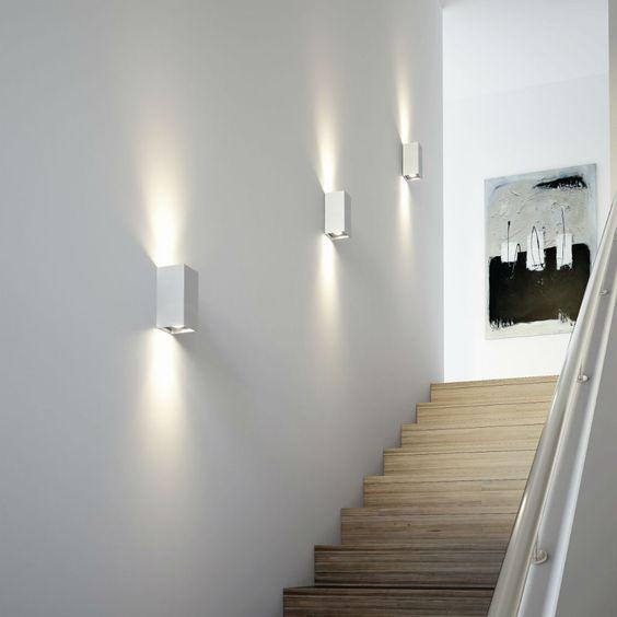 TRESOL BLOC - Applique murale LED Argent Osram