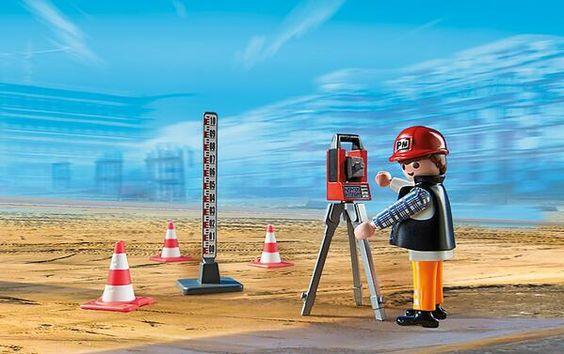 Topógrafo de Playmobil. Topógrafo. Land Surveyor. Repin: Topografía BGO Navarro - Estudio de Ingeniería #topografia #topografo #topographie #landsurveyor #geometra #geomatica #geomatic