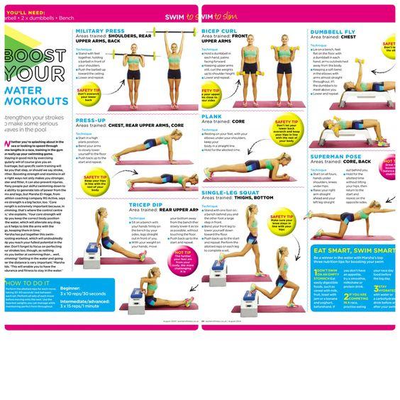 Exercises for swim improvements