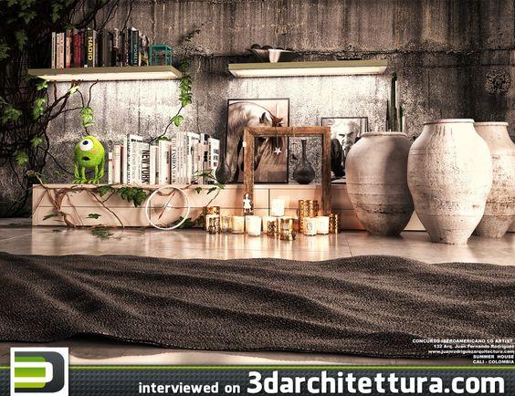 Juan Fernando Rodríguez interviewed for 3darchitettura: CG, render, 3d, architecture, design  http://www.3darchitettura.com/juan-fernando-rodriguez/
