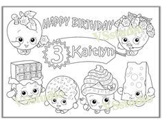 shopkins coloring pages Google Search Coloring Pages Pinterest Coloring Shopkins and Search