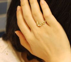 LITTLE LOVE RING - Rings & Tings | Online fashion store - for when I decide to go mad with shopping-frenzy